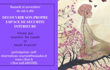 Samedi 16 novembre de 10h à 18h participation 120€