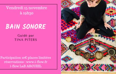 Samedi 15 novembre à 19h30 participation 10€