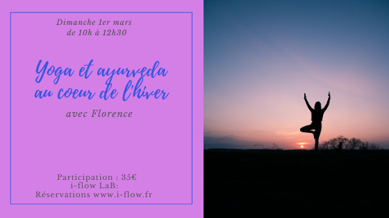 Atelier Yoga et ayurveda «Au coeur de l'hiver»