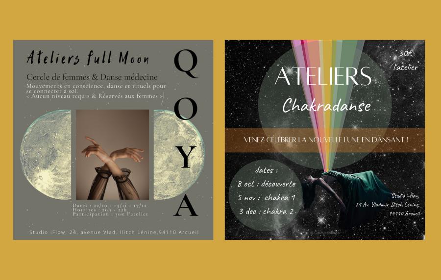 Ateliers de Danse – Chakradanse et Qoya